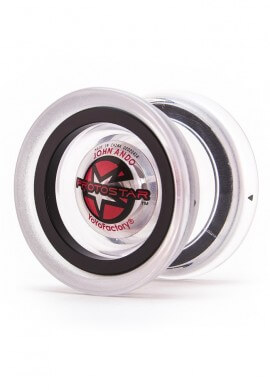 Clear and Black ProtoStar Yoyo