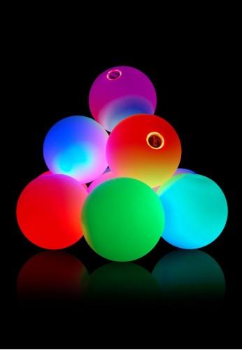 12 Panel LED Juggling Ball