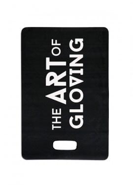 Black kneeling pad for gloving