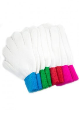 Colored Wrist Replacement Gloves